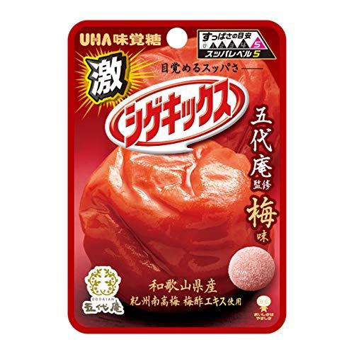 UHA味覚糖 激シゲキックス 梅味 20g×10個