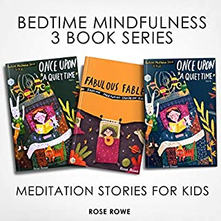 Bedtime Mindfulness: 3 Book Series audiobook cover art
