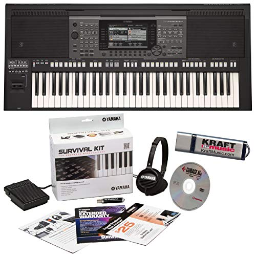 Sale!! Yamaha PSR-A3000 Arranger with Extended Warranty, Headphones, and Flashdrive