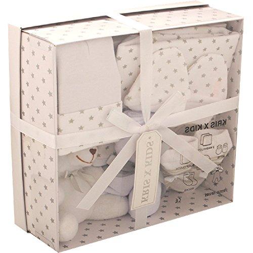 Set de regalo de 4 prendas, de 0 a 3 meses- blanco...