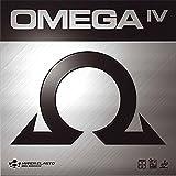Xiom Omega IV Pro - Rivestimento per tavolo da ping pong, 2,0 mm, colore: Rosso...
