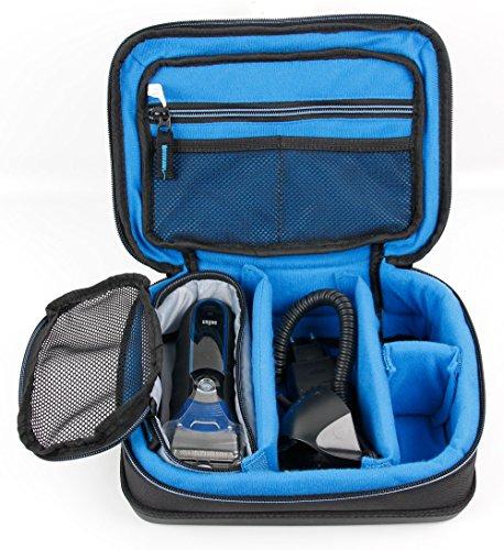 DURAGADGET Bolsa Acolchada Profesional Negra para maquinilla de Afeitar/Corta Pelo Braun Body Groomer BG5030, Braun...