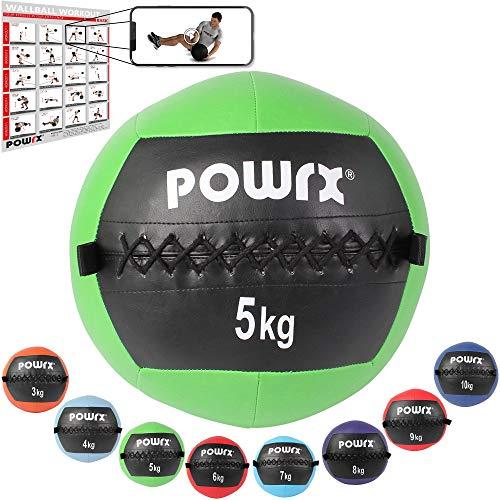 Wall Ball Balón Medicinal 2 - 10 kg