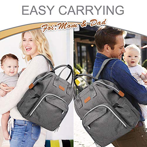 Pantheon Diaper Bag - Backpack Diaper Bags for Baby Girl Boy and...