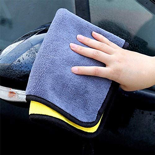 Leyue Cocina Coche Vidrio Absorbente Limpieza Toalla Paño Limpiando Paño Cuidado de Automóvil Coral Terciopelo Soft Tool