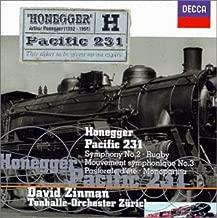Honegger: Rugby / Symphony No. 2 / Mouvement symphonique No. 3 / Monopartita / Pastorale d'été /  Pacific 231