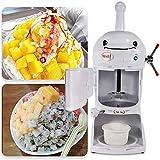 ZRXRY Eiscrusher Ice Crusher Maschine, 350W rasierte Eismaschine Ice Crusher für Haus, Restaurant, Bars