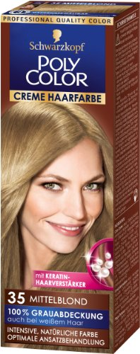 Poly Color Creme Haarverf 35 Middenblond, 90 ml