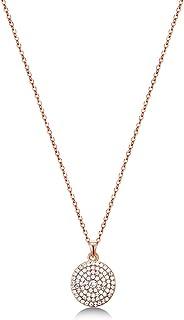 MESTIGE Women Crystal Rose Gold Genesis Necklace with Swarovski Crystals