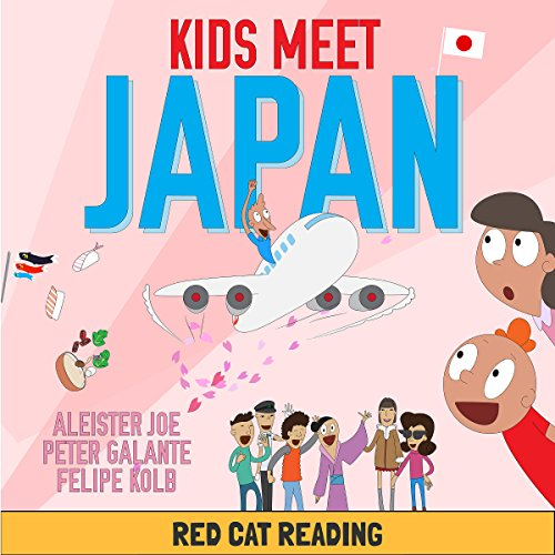 Kids Meet Japan audiobook cover art