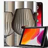 para iPad Pro 11 Pulgadas Caso 2021 2020 2018 Funda, Funda de Vidrio de Pescado de Acuario de Gafas Funda de Concha Delgada para iPad Pro 11 Pulgadas
