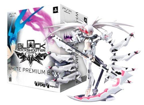 Black Rock Shooter The Game (Psp) White Premium Box w/ Wrs Figma Action Figur