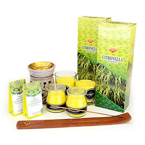 AROMASENSES Pack Premium de Citronela,...