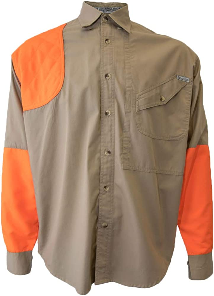 Tiger Hill Men's Blaze Upland Hunting Sleeve Tactical Shirt 100% quality warranty! Excellent Long