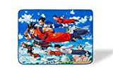 Dragon Ball Super Flying Heroes Large Anime Fleece Throw Blanket   Official Dragon Ball Super Throw Blanket   Collectible Anime Throw Blanket   Measures 60 x 45 Inches
