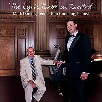 The Lyric Tenor in Recital