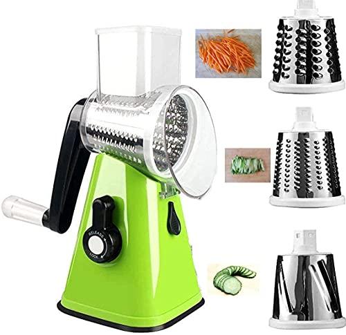 Verdure | Taglia | Formaggio | Grattugia | Affetta | Elettrica | Per | Patate | Elettrico | Manuale | Juliana | Espiral | Multifunzione | Spaguhettim | Dibujos (verde)