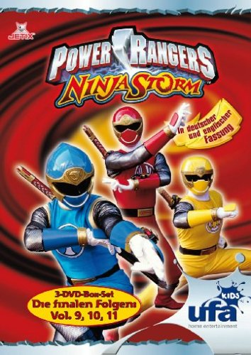Power Rangers - Ninja Storm Vol. 9-11