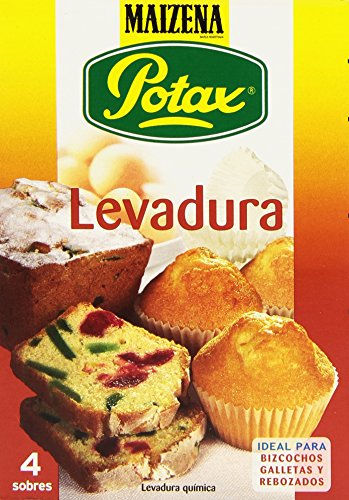 Maizena Potax Levadura, 4 Sobres