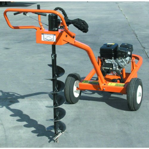 Sale   Trailerable Hydraulic Auger With 9 HP Robin Subaru Engine
