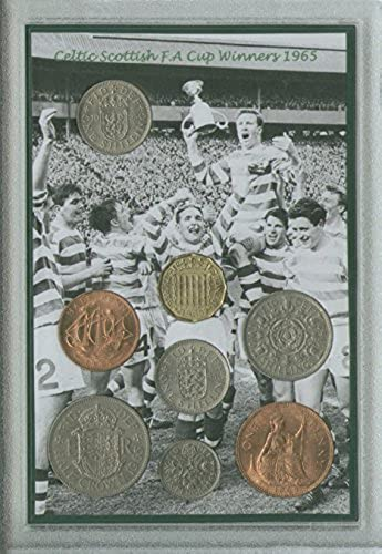 Glasgow Celtic (The Bhoys Hoops) Vintage Scottish FA Cup Final Winners Retro Coin Present Display Gift Set 1965