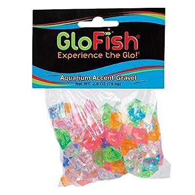 GloFish Accent Gravel for Aquariums, Various Colors & Types