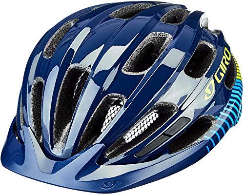 Giro Vasona, Casco Da Bicicletta Dirt Donna, Blu Mezzanotte/Heatwave, Unisize 50-57 Cm