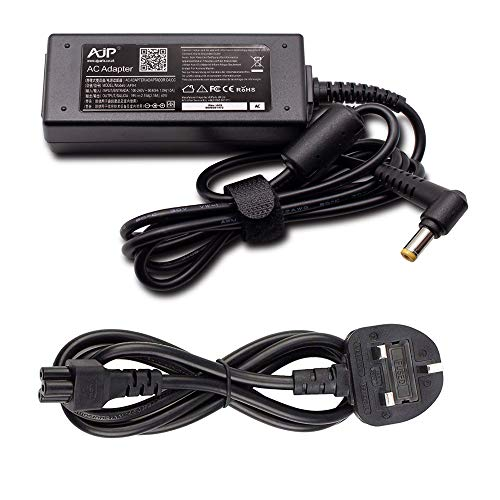 Wikiparts* NEW 19V 2.1A 40W AC ADAPTER REPLACEMENT CHARGER FOR ACER S242HL S243HL S271HL LAPTOP POWER SUPPLY UNIT PSU WITH UK POWER CORD