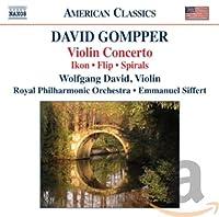 Violin Concerto/Ikon/Flip/Spirals