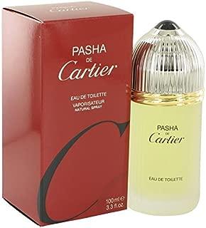 PASHA DE CARTIER by Cartier Eau De Toilette Spray 3.3 oz for Men - 100% Authentic