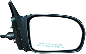 Hatchback Only Left Driver Side Mirror Glass Lens only//Adhesive USA VAM for 02-05 Civic Si