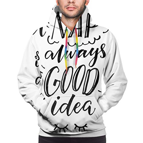 ASOBIMONO Unisex Realistic 3D Printed Hoodies Casual Christmas Pullover Hooded Sweatshirt with Pockets for Men Women