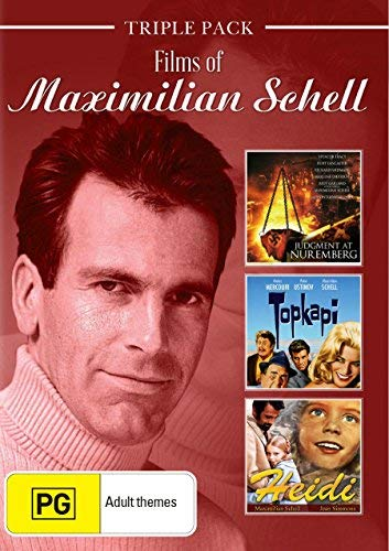 Films of Maximilian Schell ( Judgment at Nuremberg / Topkapi / Heidi ) [ Australische Import ]