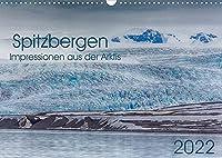 Spitzbergen - Impressionen aus der Arktis (Wandkalender 2022 DIN A3 quer): Landschaften, Tiere und Lichtstimmungen (Monatskalender, 14 Seiten )