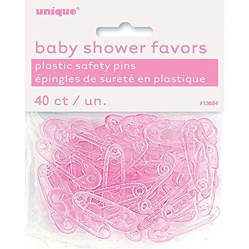 Unique Party Supplies Partyzubehör für Babyparty, Rosa