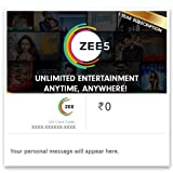 The Gift card can be used only once by the user and will be valid for 365 days from the date of purchase. ZEE5 Gift cards gets you premium subscription service from 'ZEE5'. Users get access to unlimited premium content on ZEE5 for the specified perio...