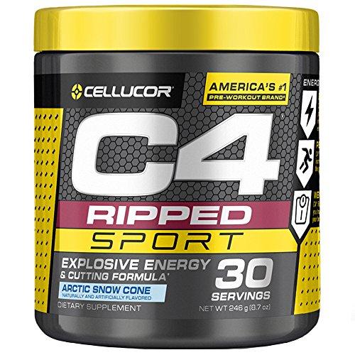 C4 Ripped Sport Pre-Workout Powder