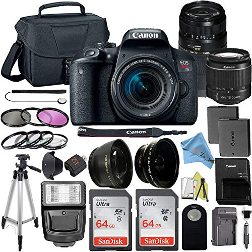 Canon EOS Rebel T7i DSLR Camera with 24.2MP...