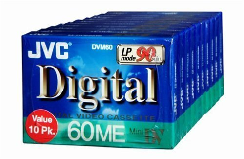 Big Save! Jvc Mdv60Du10 Mini Digital Video Cassette (10-Pk)