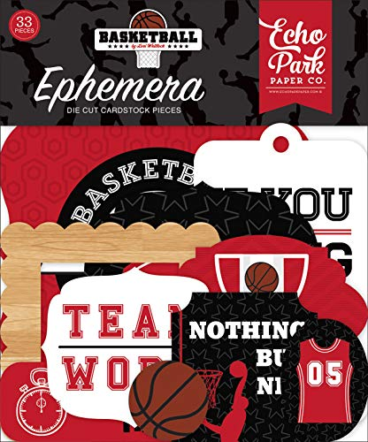 Echo Park Paper Company Basketball Ephemera