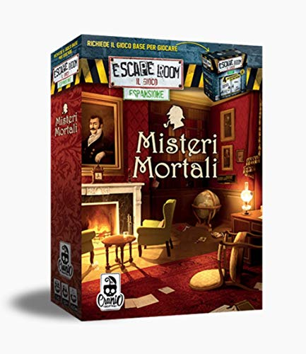 Misteri mortali - Espansione escape room gioco da tavolo | Cranio Creations