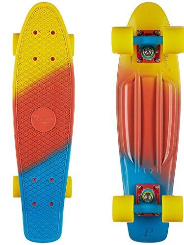 Penny Skateboards Canary Fade 22 Complete Skateboard - 6 x 22 by Penny Skateboards
