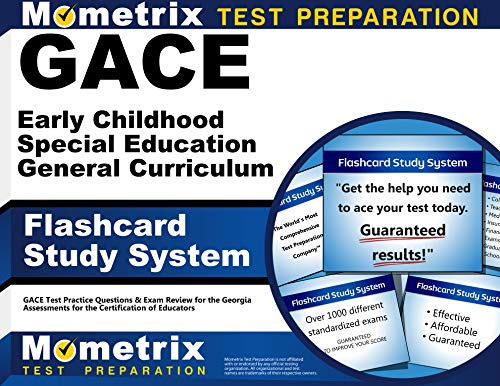 GACE Early Childhood Special Education General Curriculum Flashcard Study System: GACE Test Practice Questions & Exam Re