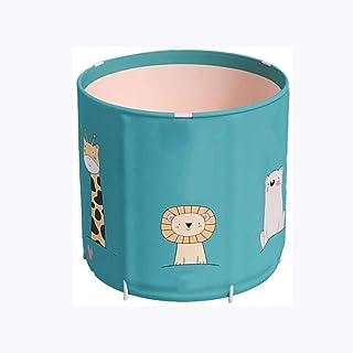CCDDP Modern Bathtub - Foldable Freestanding Bathtub Soaking Bracket Bathtub Insulation