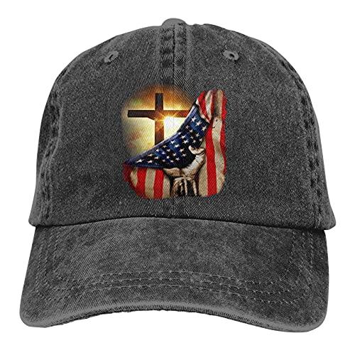 American Christian Cross Patriotic …