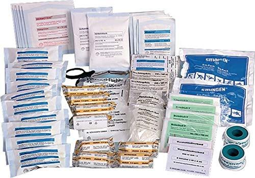 Söhngen Füllung DIN 13169 20 Jahre Haltbar Erste Hilfe Verbandskasten 126-Teilig von MBS-FIRE®