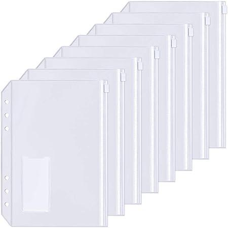 A6 Nachf/üllbare Notizpapier Set 270 Seiten|460 St/ücke Haftnotizen Bunt 3 Packe A6 Nachf/üllpapier A5 Liniert 135 Bl/ätter