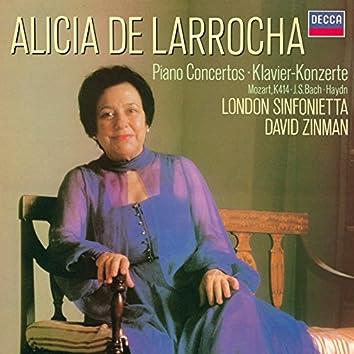 Piano Concertos by Mozart, Bach & Haydn