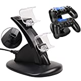 2win2buy PS4 Controller Charger for DualShock Charging Station Playstation 4 Controller Charger Dock Stand Cradle For Sony Playstation 4 and Slim