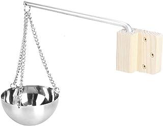 Atyhao Accessoires de pièce de Sauna de Bol d'huile Essentielle de Tasse de Cuvette d'arome de Sauna d'acier Inoxydable